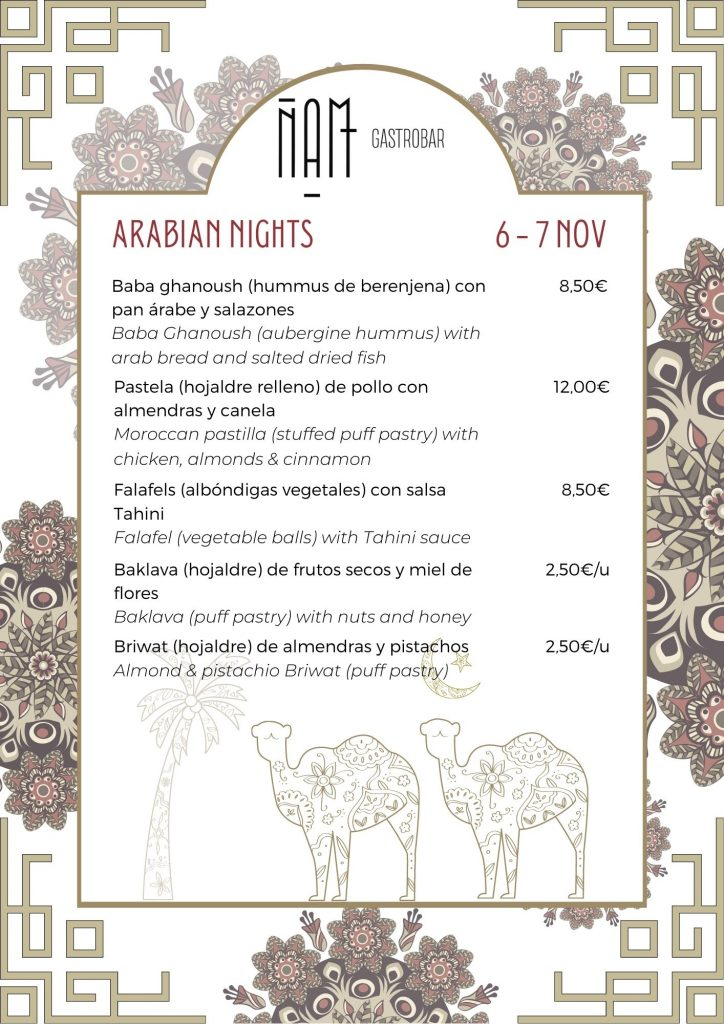 recetas del mundo arabe